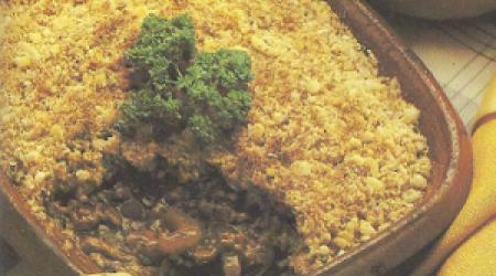 Gehakt ovenschotel met bloemkool